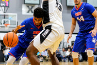 Houston Baptist Huskies guard Braxton Bonds (30) Providence Friars forward Kalif Young (13)