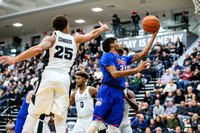 Houston Baptist Huskies guard Braxton Bonds (30) Providence Friars guard Drew Edwards (25)